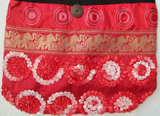 Hobo Bag Hand Made Thai Silk New RRP $25 Style F Sequins
