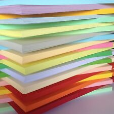 100 SHEET   A6 COLOURED CARD 170GM CHOICE OF 23 COLOURS PASTEL INTENSIVE. CREAM