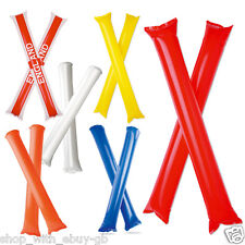 CHEERING STICKS - BANG BANG NOISE MAKERS CLAPPERS CHEER - FOOTBALL SPORTS PARTY