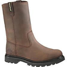 Caterpillar Revolver Steel Toe - Men's Work Boot - Brown
