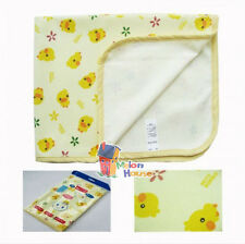 100% Cotton Cute Duck Baby Travel Home Changing Mat Pad Waterproof