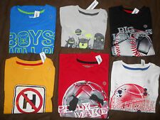 Old Navy Boys Tee Shirt Graphic Short Sleeved Children Kids