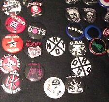 PUNK BUTTONS #05 (SOCIAL & LIFESTYLE) - MANY TO CHOOSE FROM