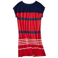 NEW! JASON WU for Target JERSEY Dress Red/Navy Stripes Cotton soft stretchy