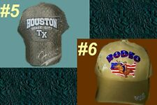 Baseball Cap RODEO HOUSTON Texas Unisex Horse Cowgirl Bull Barrel Western Space