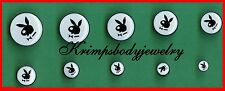 Bunny Design ear plugs in a variety of sizes Play Boy Style internal screw