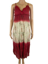 Monsoon Crinkle Cotton Floaty Midi Summer Sun Beach Womens Dress 8 12 14 16 18