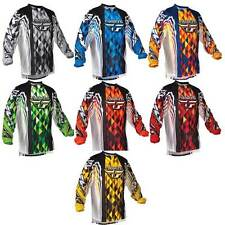 Fly Racing Kinetic Jersey Men's and Youth/Child's/Kid's Size MX/ATV/BMX/MTB Bike