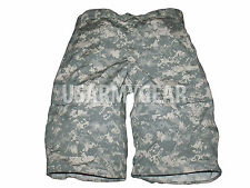AUTHENTIC Military ACU  Army Cargo Fatigue Camouflage Camo 6 POCKETS SHORT PANTS