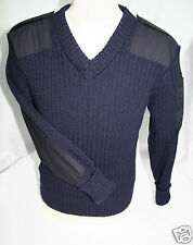WOOL NATO / ARMY JUMPER. WOOLLY PULLY. OUTDOOR,UNIFORM,SECURITY,MILITARY, #09047
