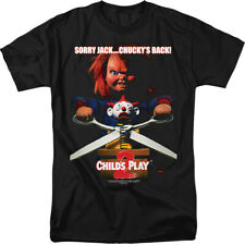 Officially Licensed Child's Play 2 Chucky's Back Adult Shirt S-3XL