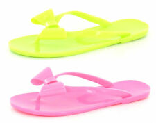 LADIES FLIP FLOP WITH BOW DETAIL ( F0593)
