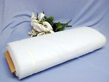 """4 Bolts 108"""" x 50 Yards (150 ft) Tulle 25 Colors Wedding Decoration 100% Nylon"""