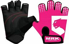 BOOM Pro Ladies Cycling Gloves.Fitness,Gym Gloves,Weight Lifting,Wheel Chair Glo