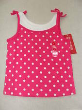 Gymboree CITRUS COOLER Pink White Polka Dot Tank Top Shirt NWT Summer Spring 4