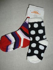 Gymboree WINTER PENGUIN Striped Black Dot Chenille Socks 2 pack NWT Fall School