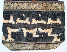 Thai Hobo Bag with Silk & Elephants Style O many Colours made in Thailand!
