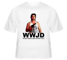 Classic 80's Movie Big trouble in Little China What Would Jack Burton Do Tshirt