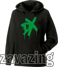 WWE DX UNISEX BLACK KIDS HOODIE WRESTLING D GENERATION X SUPERSTARS NEXUS FIGHT