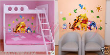 Infant Baby Kids Lovely Animals Nursery Cot Room Decor Wall Sticker Decal 7 Type