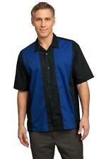 Port Authority Retro Camp Movie Star Bowling Shirt - Charlie Sheen Style S300