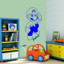 Super Mario (2) - Wall Decal Art Sticker Children Nursery