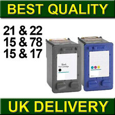 Remanufactured Ink Cartridges Replace For Printer 21 22 15 17 78