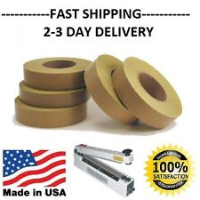 PTFE Teflon Adhesive tape for Impulse Sealer Foodsaver 5 mil 600 Degree Rated