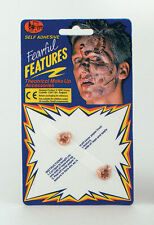 Halloween Witch Warts or Boils Stick on face Scary Make up Accessory Gruesome