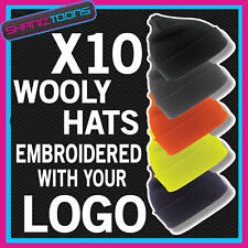 WOOLY HAT PERSONALISED WITH YOUR OWN LOGO / TEXT BUSINESS WORK WEAR