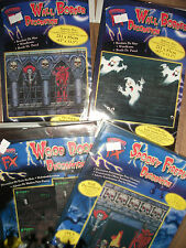 Halloween Spooky Door and Wall Decorations Dracula & Ghosts First Class Post