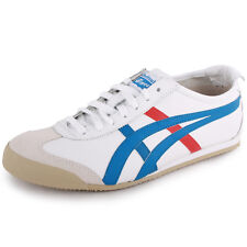 Onitsuka Tiger Mexico 66 White Blue Unisex Trainers