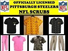 PITTSBURGH STEELERS SCRUB TOP-PITTSBURGH STEELERS SCRUB PANTS-STEELERS SCRUBS