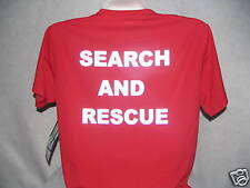Reflective Search And Rescue Wicking T-Shirt, 100% Polyester, Moisture Wicking