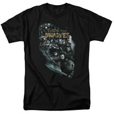 The Hobbit Company Of Dwarves Officially Licensed Adult Shirt S-3XL
