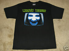 Marilyn Manson MMTV S, M, L, XL, 2XL Black T-Shirt