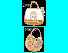 NWT Plush Kellytoy Purse Packmate FREE US SHIPPING NEW Butterfly Bear