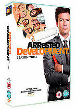 ARRESTED DEVELOPMENT - Series 3. Jason Bateman (NEW/SEALED 2xDVD SET 2007)