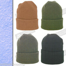 Acrylic Heavy Turbo Knit Watch Cap - USA Made, Winter, Warm, One Size Fits Most