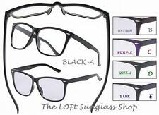 Nerd Style Eyewear Cool No Prescription Clear Lens Eye Glasses High Quality RBXL