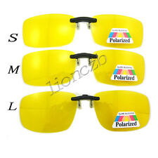 Night Vision Glasses Polarized Driving/Fish Clip on Sunglasses For Metal Frame
