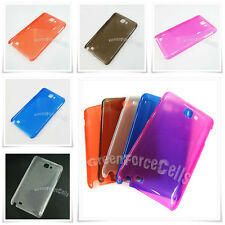 Matte Ultra Thin Air Jacket Hard Skin Cover for Samsung Galaxy Note 1 i9220 Lot