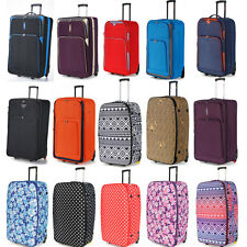 "5 Cities Medium 26"" Lightweight Expandable Trolley Luggage Suitcase 66L capacity"