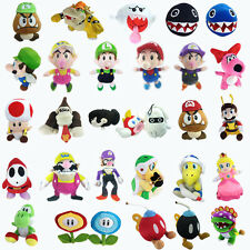 Super Mario Bros Plush Character Soft Toy Stuffed Animal Nintendo Game Doll