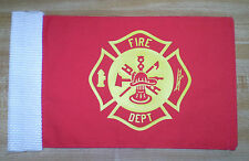 Motorcycle flag - Fire Dept - 3 styles Antenna Flagpole HANDMADE IN USA NEW