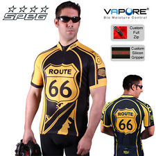 SPEG ROUTE 66 VAPORE PRO TEAM CYCLE CYCLING JERSEY USA - BIKE SHIRT RRP $80.99