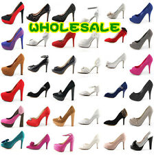 100% WHOLESALE LOT womens high heel platform wedge pump sandals boots flat shoes