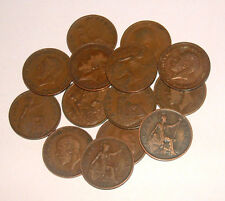 Great Britain/UK 1911 - 1936 - George V Bronze Half-Pennies - Select the Date