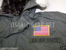 New Made in USA Military Extreme Cold Weather N-3B Snorkel Parka  Army Jacket GI