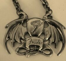 FENDER BATWING OR DEVILS TAIL  NECKLACE  Licensed Jewelry